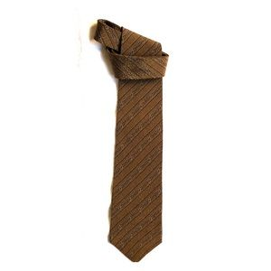 kENNETH COLE. Diag stripe tie  embossed silk